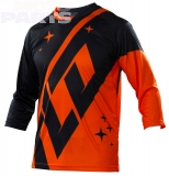 Jersey TroyLeeDesigns Ruckus Rekon Dawn, orange/navy, size XXL