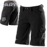Womens shorts TroyLeeDesigns, black, size L