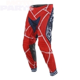 Moto pants TLD SE Air Metric, red/navy, size 34