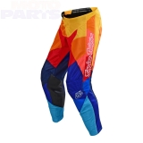 Kids moto pants TLD GP Air Jet, navy/orange, size 24