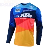 Jersey TroyLeeDesigns GP Air Jet Team, navy/orange, size M