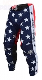Moto pants TroyLeeDesigns GP Independence Navy/Red, Size 36