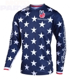 Jersey TroyLeeDesigns GP Independence Navy/Red, Size XL