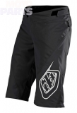Kids shorts TroyLeeDesigns Sprint, black, size Y24