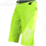 Kids shorts TroyLeeDesigns Sprint, Flo yellow, size Y24