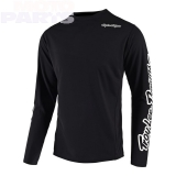 Kids jersey TroyLeeDesigns Sprint, black, size Y-YL