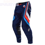 Moto pants TLD SE Seca, dark navy/orange, size 38