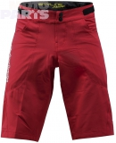 Shorts TroyLeeDesigns Skyline Race, red, size 38
