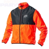 Jacket TroyLeeDesigns Ace 2 Windbreaker, orange, size S